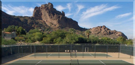 Tennis Courts at Sanctuary