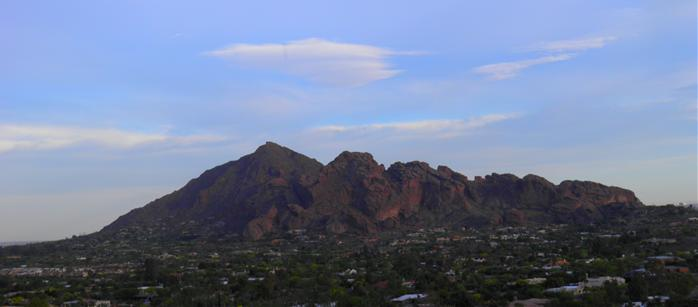 View of Camelback Mountain by Kathryn Gasser