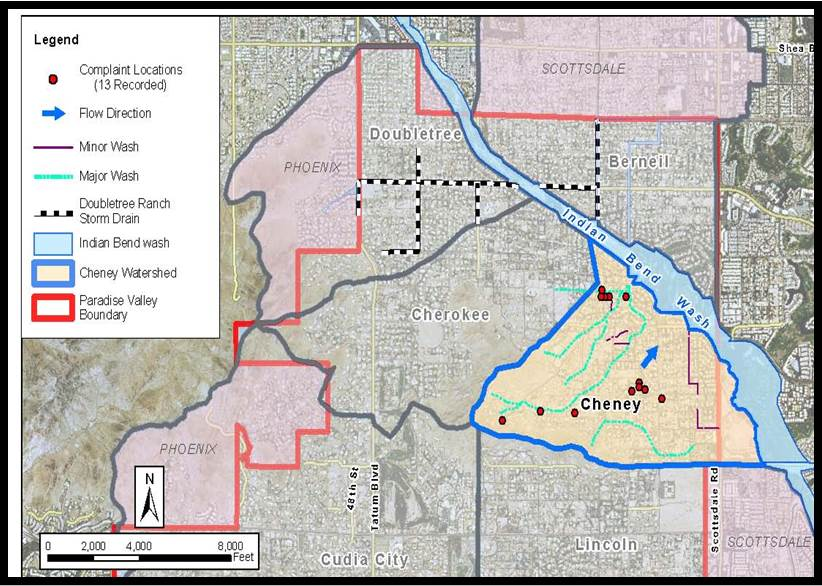 Storm Water Management Map