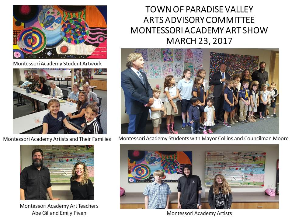 Montessori Academy Art Show  Revised 03 23 17