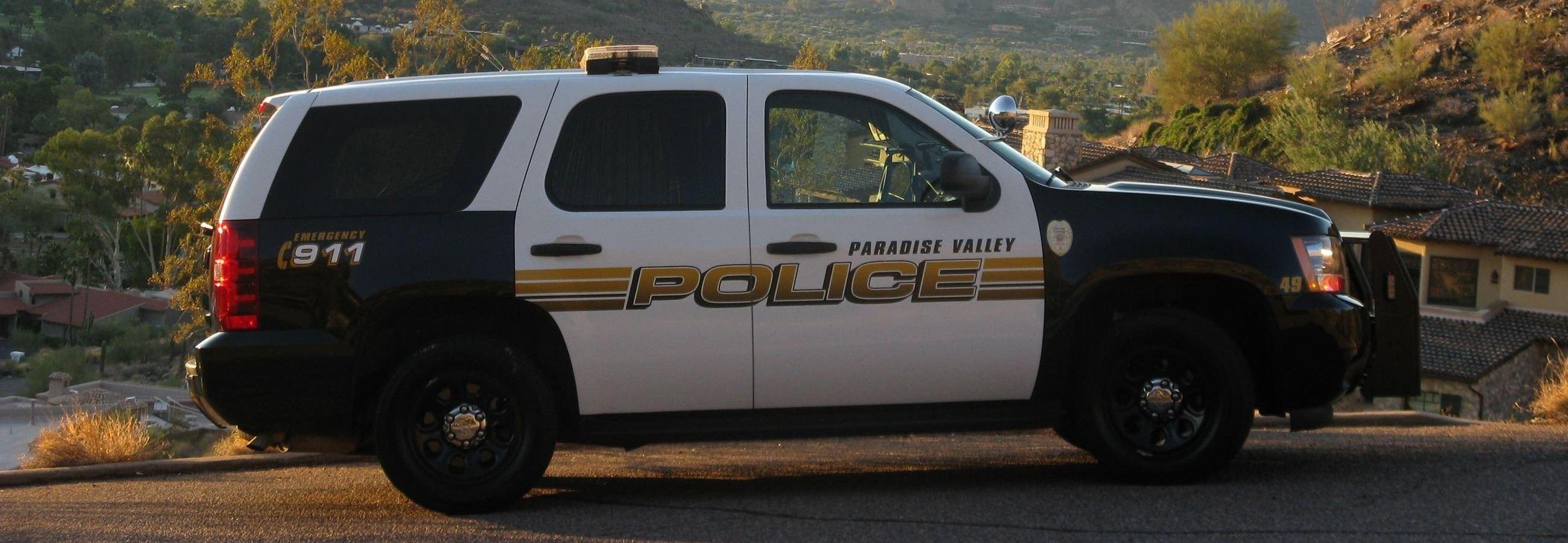 Police | Paradise Valley, AZ - Official Website