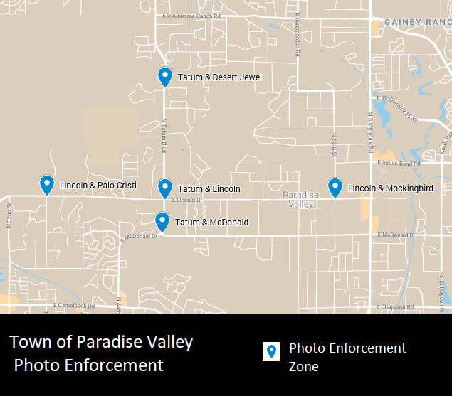 Paradise Valley Photo Enforcement Program | Paradise Valley
