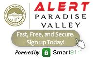 Alert Paradise Valley - Sign Up